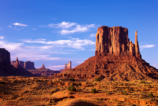 Arizona's beautiful and scenic Monument Valley