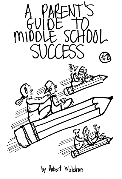 cover illustration for book about helping middle school students achieve success
