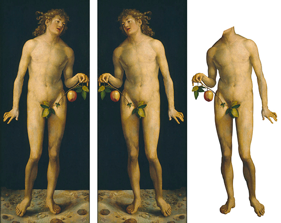 "Wikimedia Commons image of ""Adam,"" a painting by Albrecht Durer; image is now in public domain"