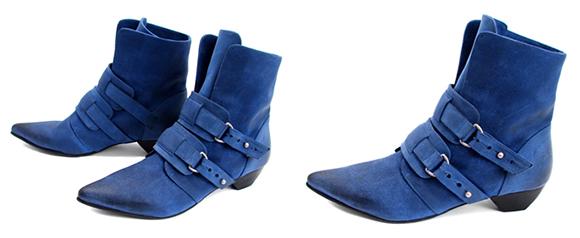 photos of the Fluevog fashion shoe design known as Truth Genevieve