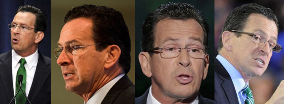 """photos of Connecticut governor Dannel """"Dan"""" Malloy"""