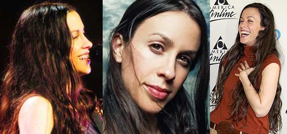 photographs of Canadian singer songwriter Alanis Morissette