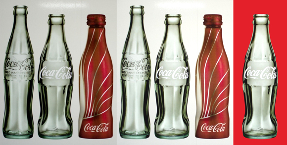 Coca-Cola bottle extraction sequence brighten select extract on transparent background so can paste onto any image