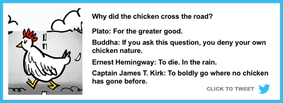 Why did the chicken cross the road? jokes