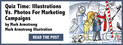 Mark Armstrong Illustration email signature footer image Quiz Time: Illustrations Vs. Photos For Marketing Campaigns